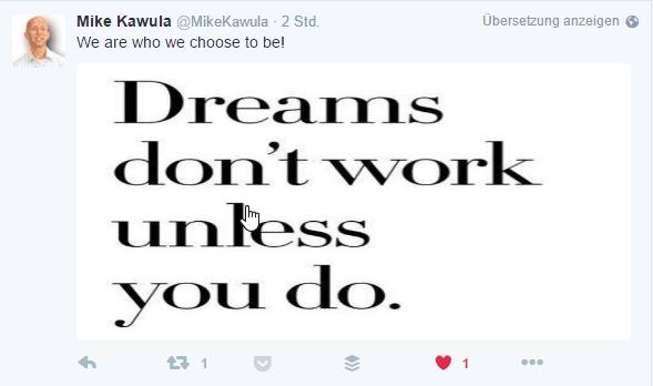 Sinnsprüche auf Twitter