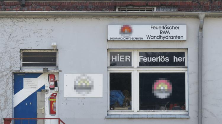 Feuerlöscher-Verkauf