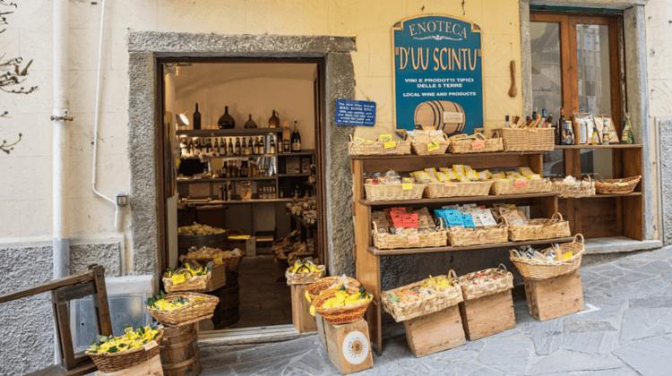Geschäft in Südeuropa