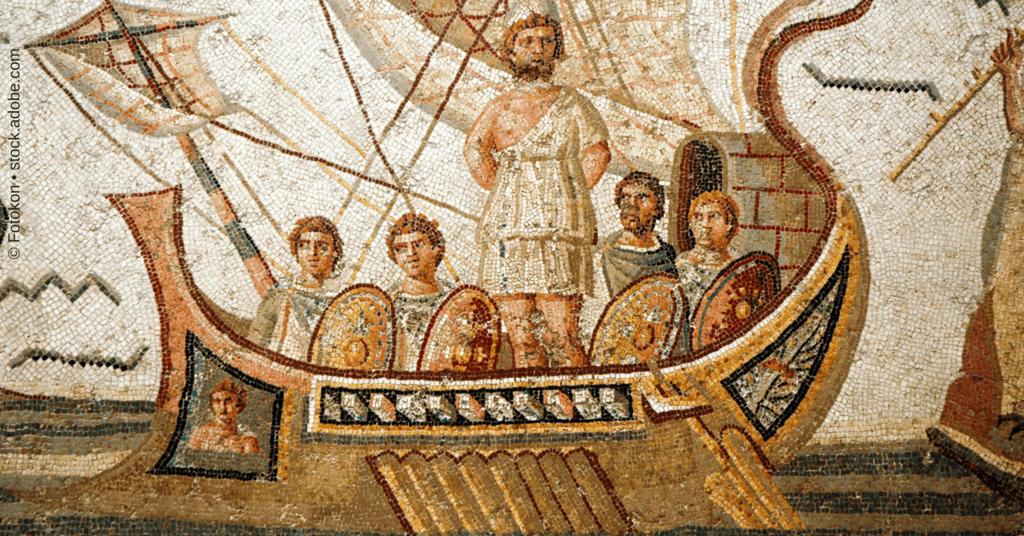 Titel zu ActiveCampaign Grundlagen - Odysseus am Mast
