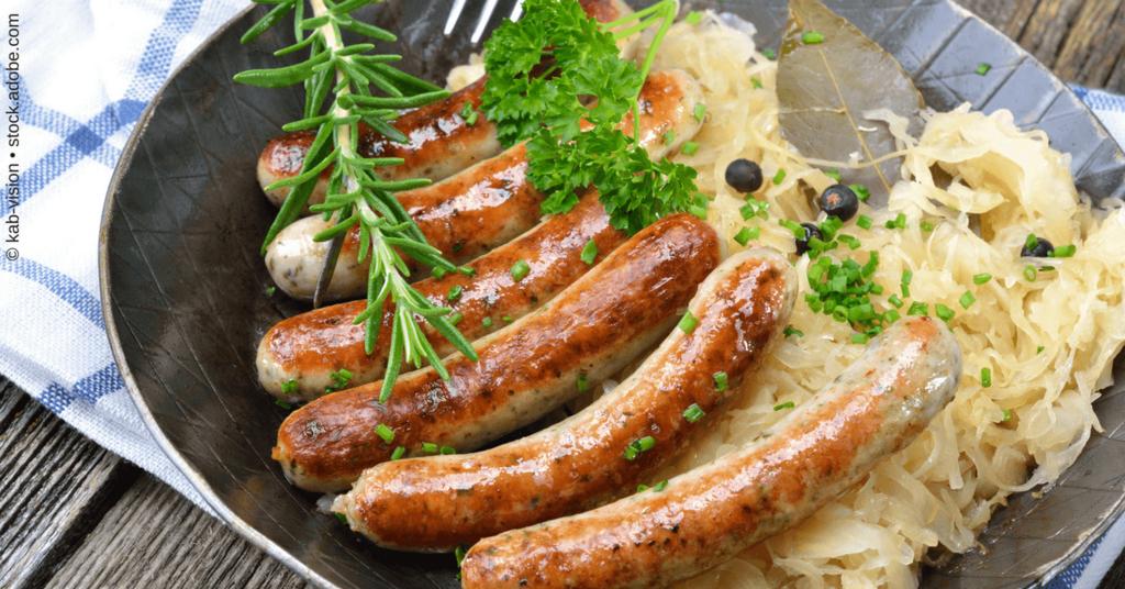 Content Repurposing - Sauerkraut mit Würstchen