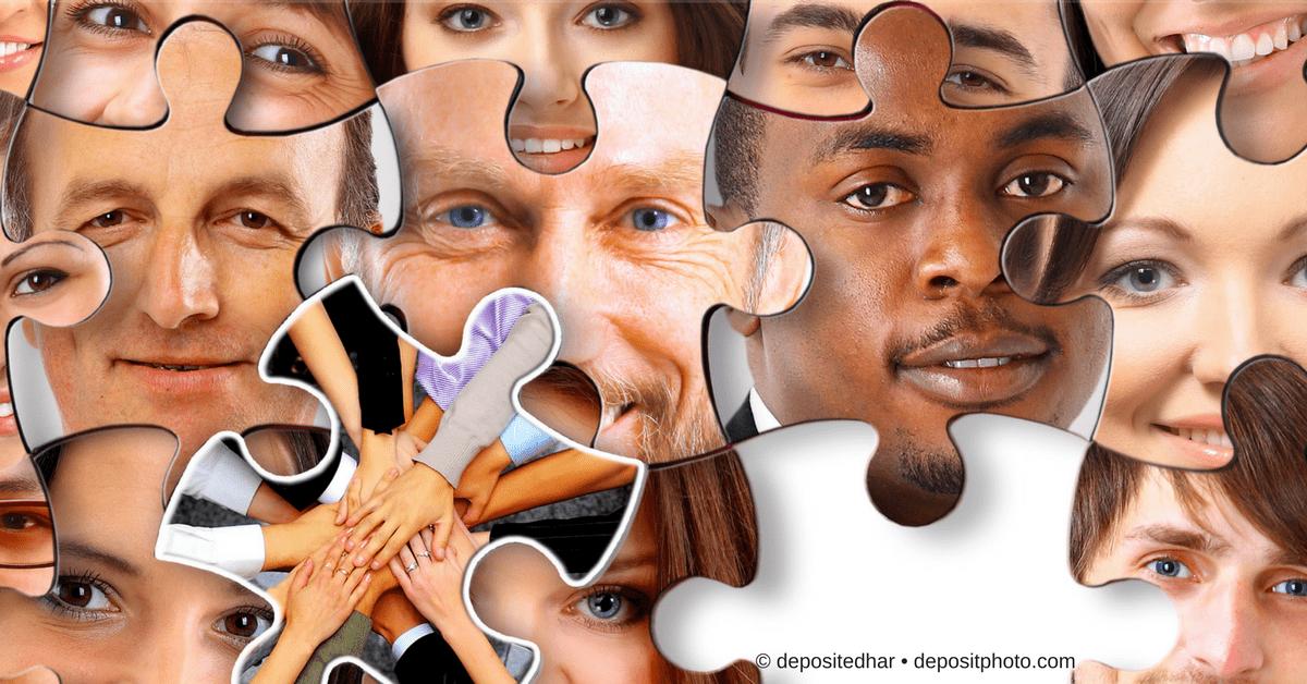 Puzzle mit Gesichtern - Facebook Gruppe erstellen