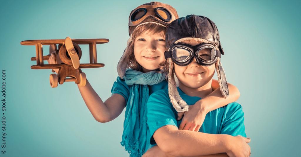 Social Pilot - Kinder spielen Piloten