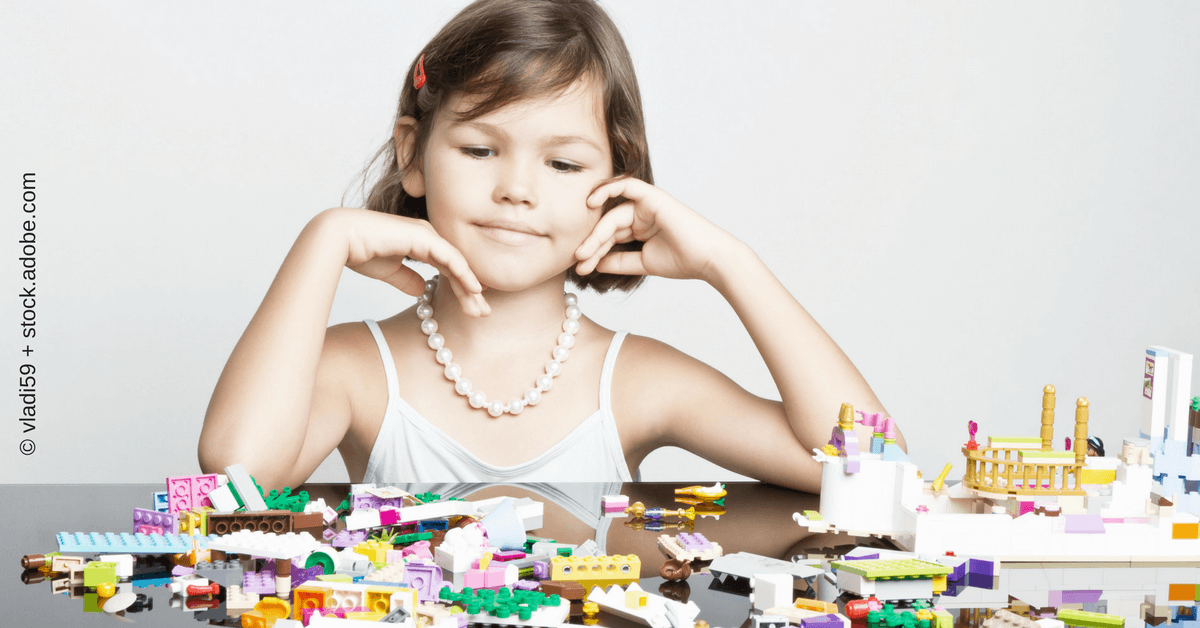 WordPress Plugin: Kind spielt mit Lego