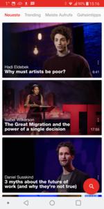 TED-App - Marketing ohne Schreibtisch