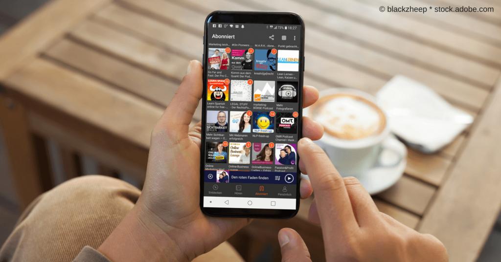 Marketing und Social Media ohne Schreibtisch - mobil mit dem Smartphone