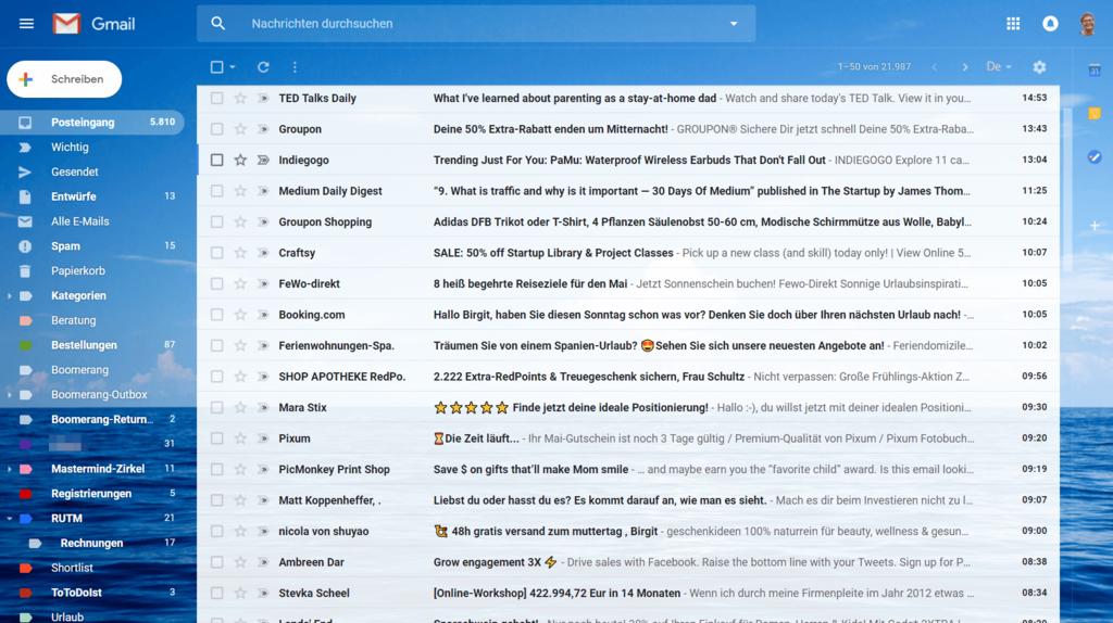 Ideenspeicher Googlemail
