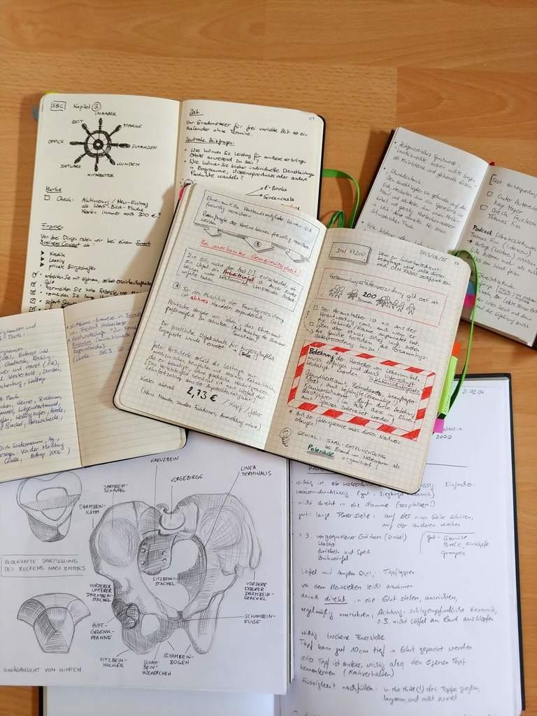 Ideenspeicher Notizbücher