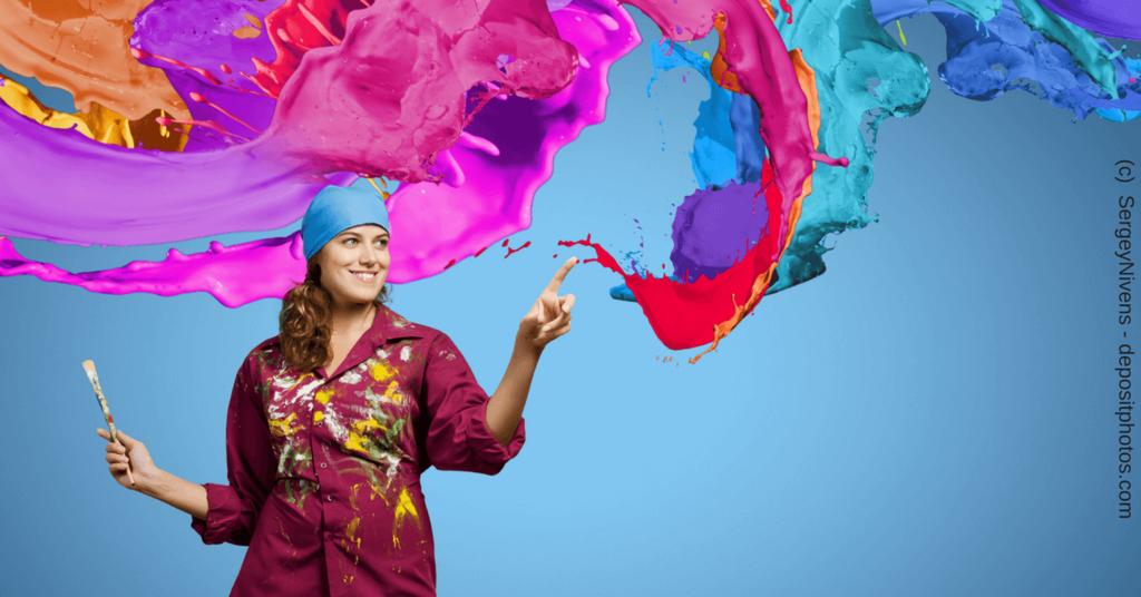 Kreativität und Marketing für Solopreneurinnen