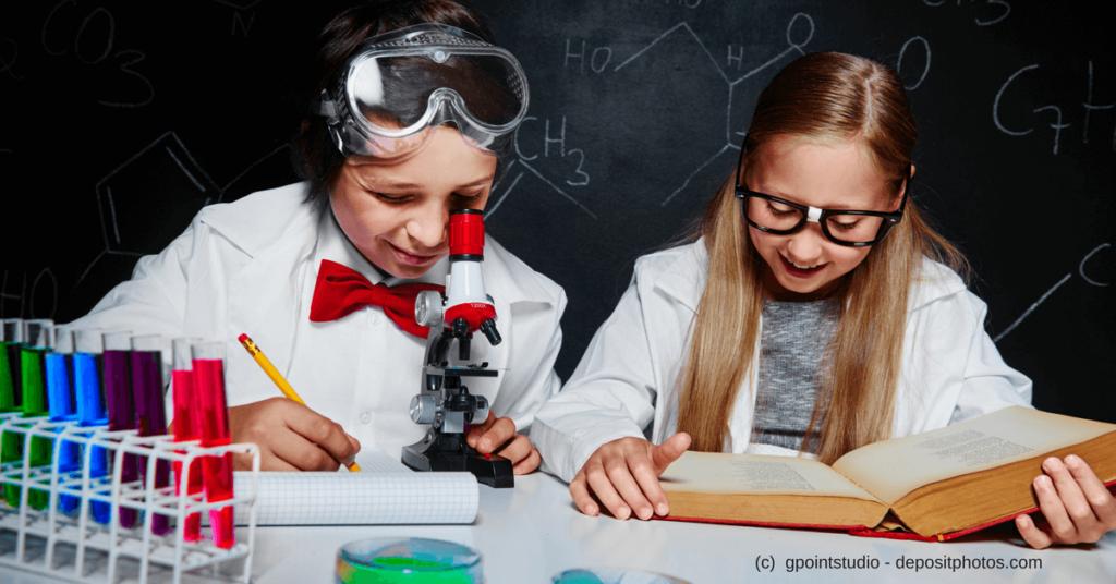 Ein Laborbuch kann Dich bei Deiner Kreativität unterstützen - Kinder im Labor