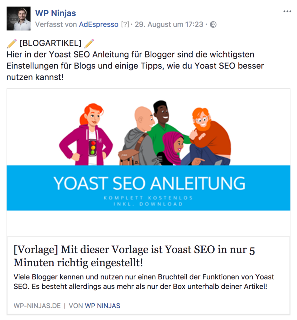 Facebook Ads im Newsfeed