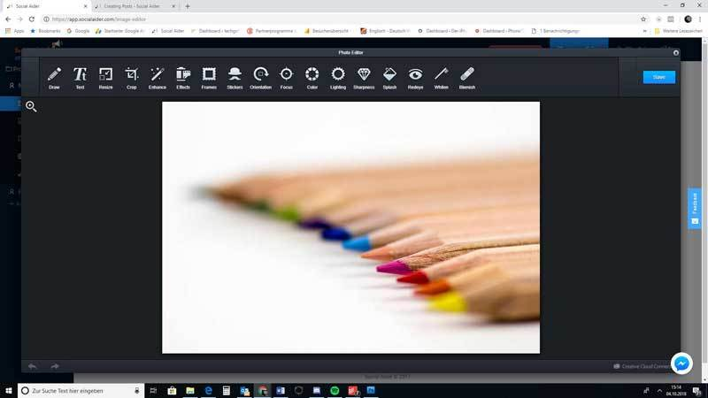 Image Editor Social Aider