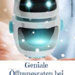 Roboter - Messenger Bots - Pinterest Grafik